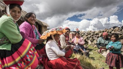 Villagers of Lares Valley