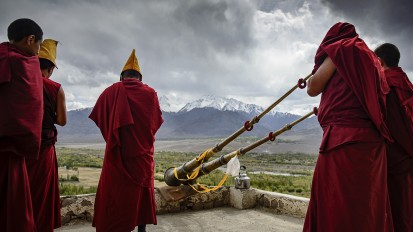 The Monks of Thiksay Gompa